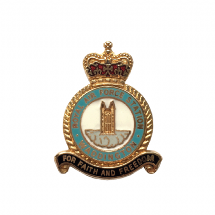 Royal Air Force RAF Station Waddington Lapel Badge